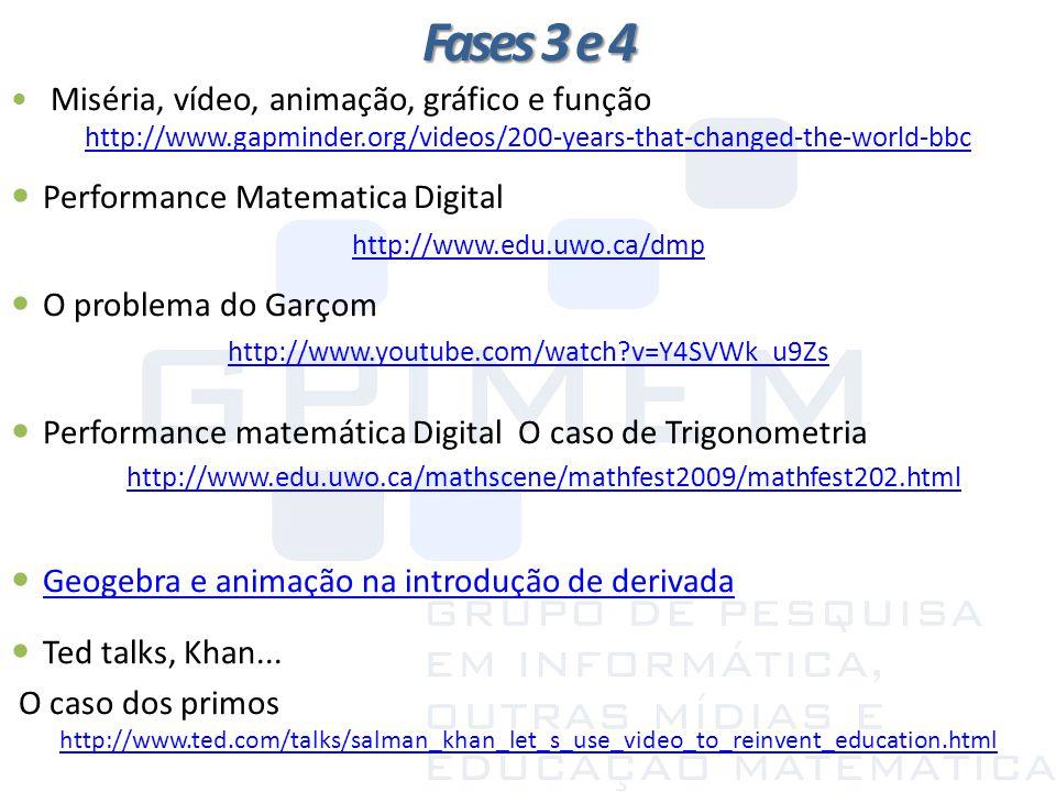 Fases 3 e 4 Performance Matematica Digital O problema do Garçom