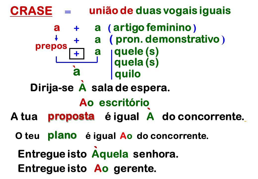 união de duas vogais iguais