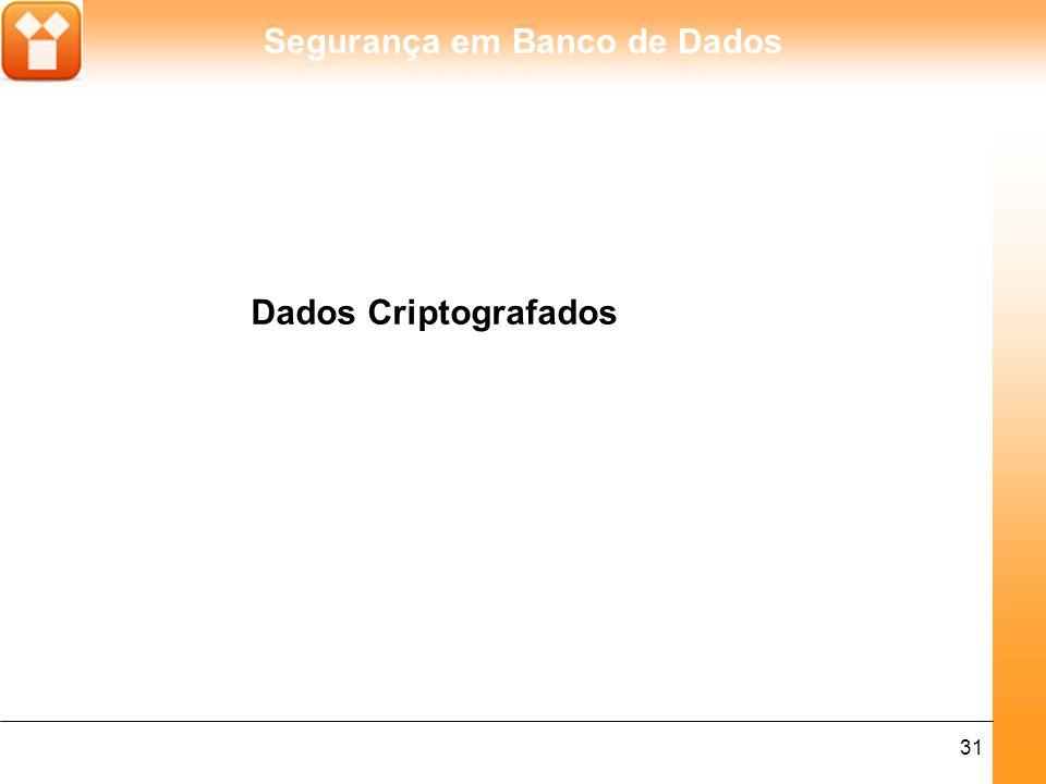 Dados Criptografados