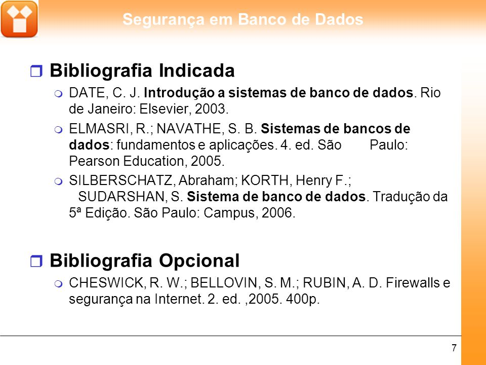 Bibliografia Indicada