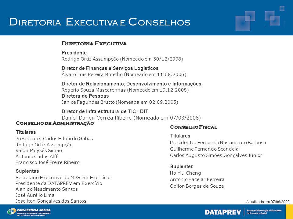 Diretoria Executiva e Conselhos