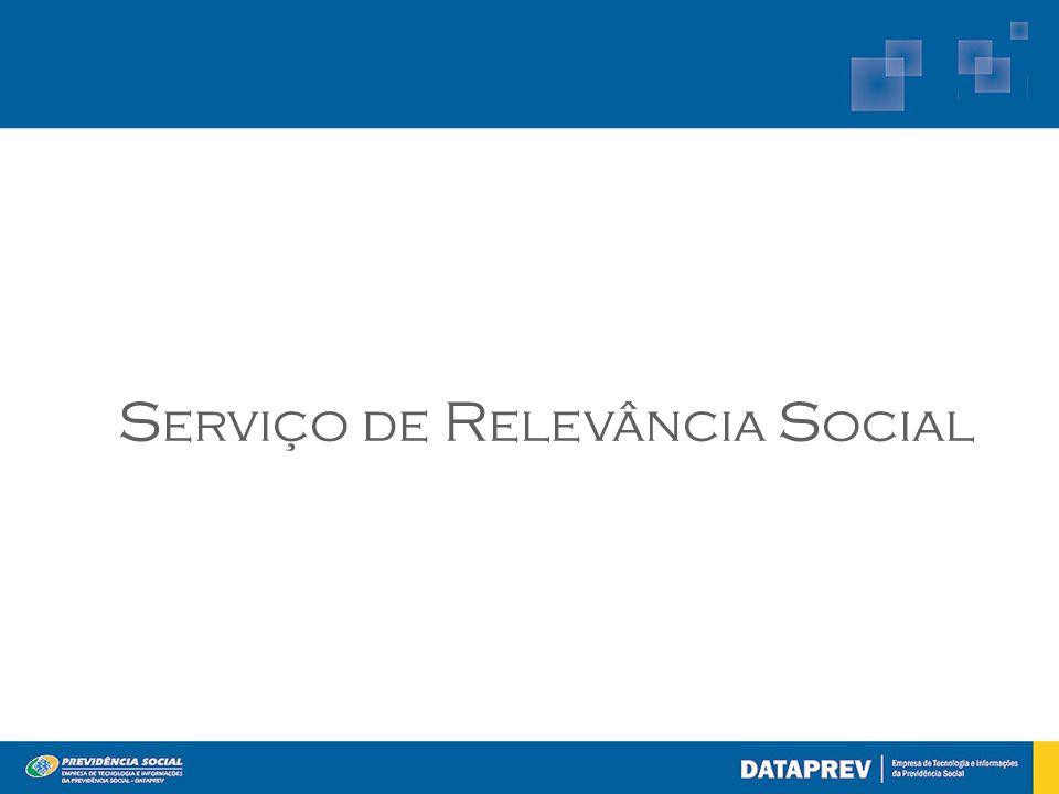 Serviço de Relevância Social