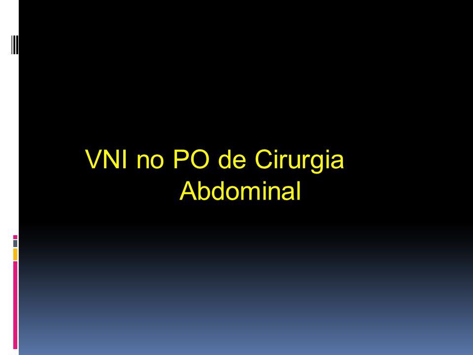 VNI no PO de Cirurgia Abdominal