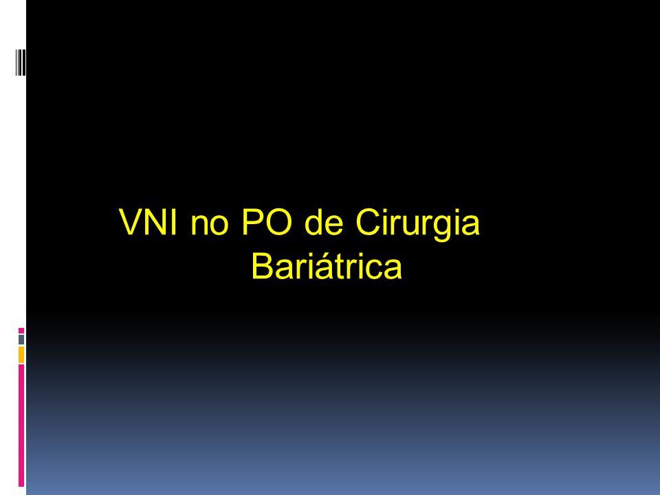 VNI no PO de Cirurgia Bariátrica