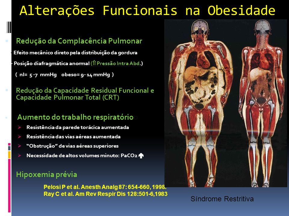 Alterações Funcionais na Obesidade