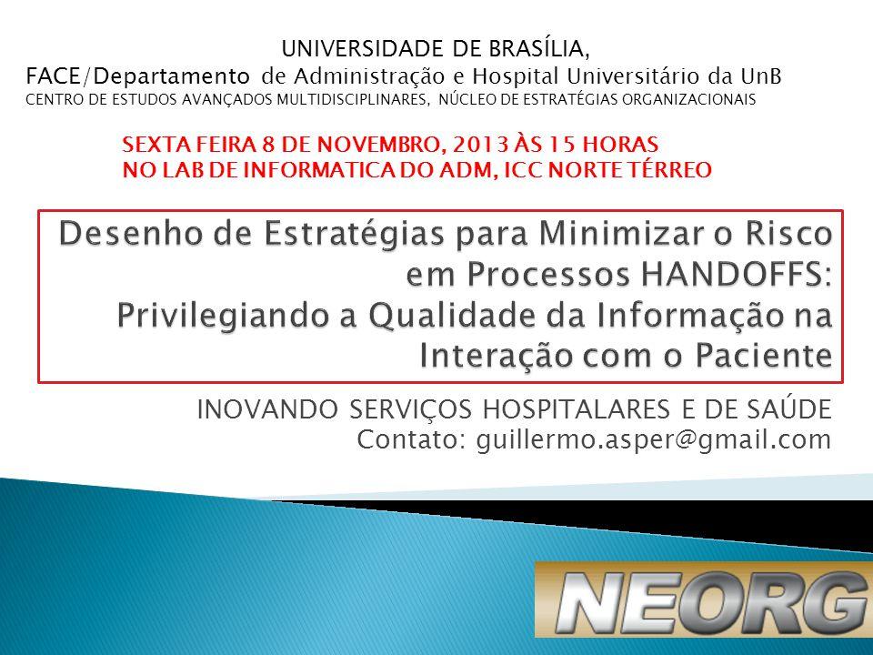 UNIVERSIDADE DE BRASÍLIA,