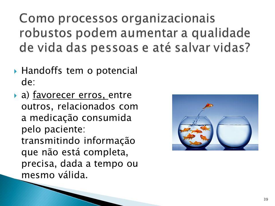 Como processos organizacionais robustos podem aumentar a qualidade de vida das pessoas e até salvar vidas