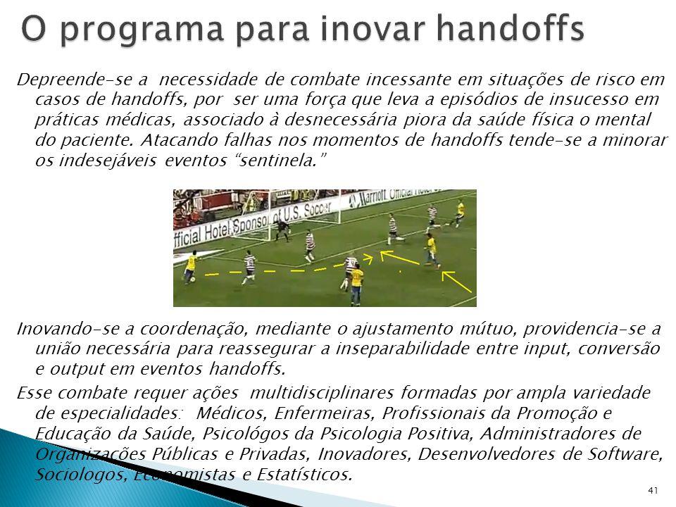 O programa para inovar handoffs