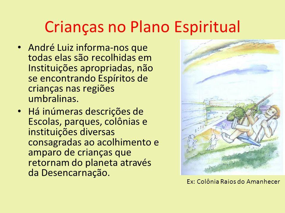 Crianças no Plano Espiritual