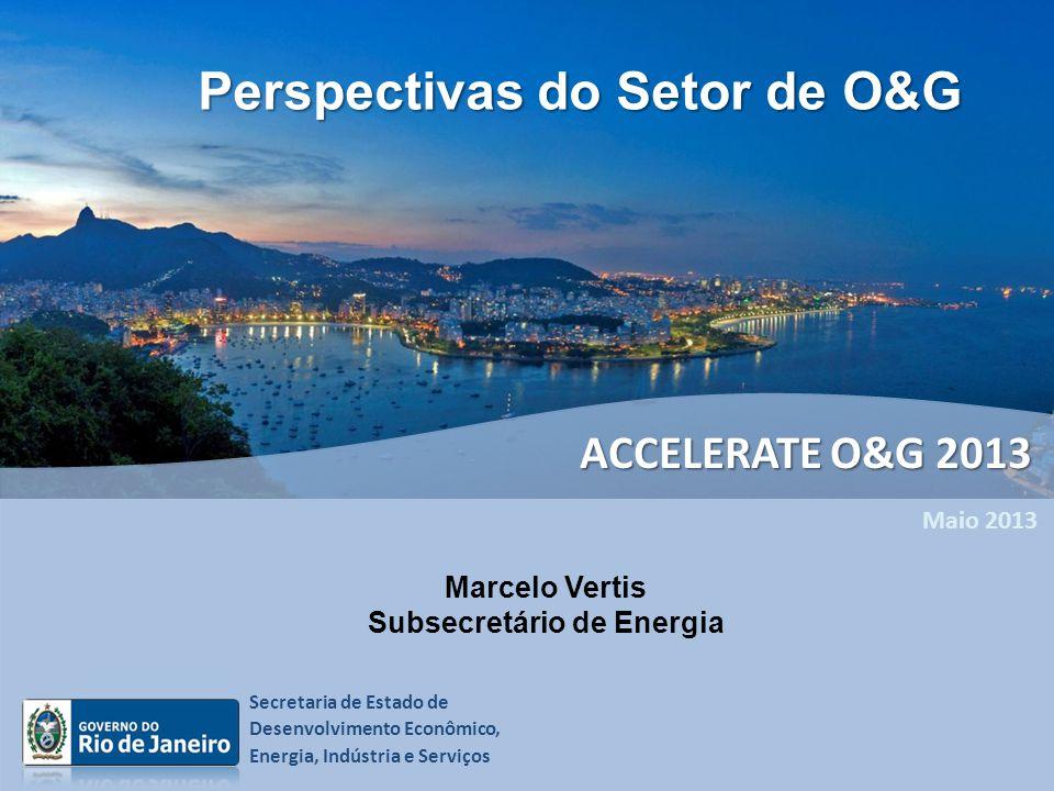 Perspectivas do Setor de O&G Subsecretário de Energia