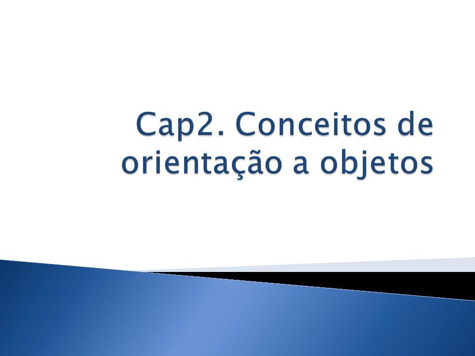 Cap2. Conceitos de orientação a objetos