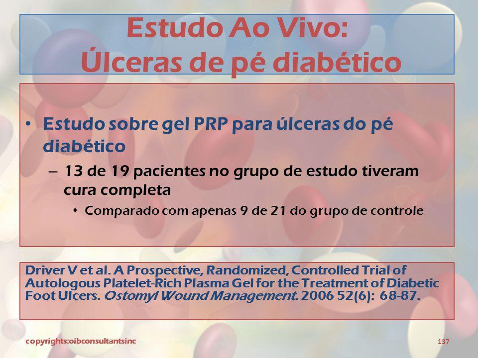 Estudo Ao Vivo: Úlceras de pé diabético