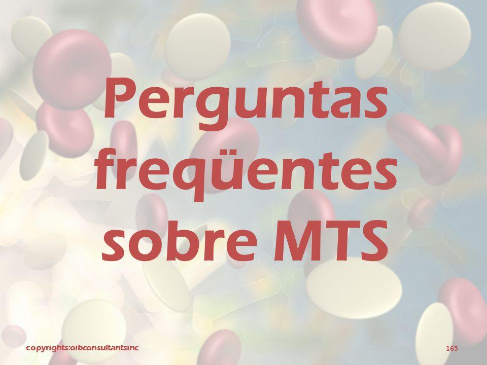 Perguntas freqüentes sobre MTS