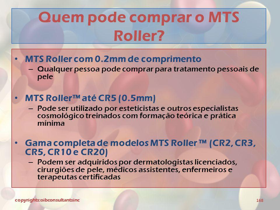 Quem pode comprar o MTS Roller