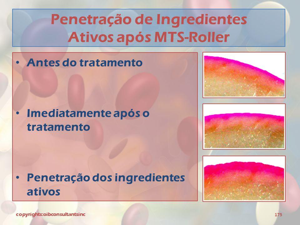 Penetração de Ingredientes Ativos após MTS-Roller