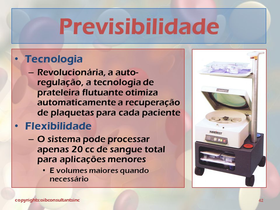 Previsibilidade Tecnologia Flexibilidade
