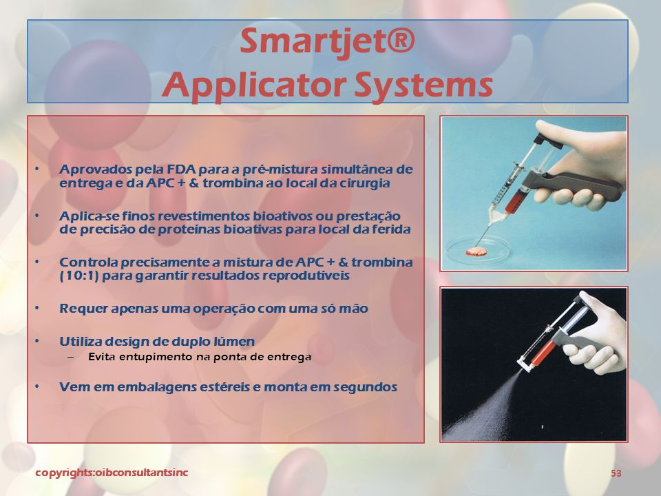 Smartjet® Applicator Systems