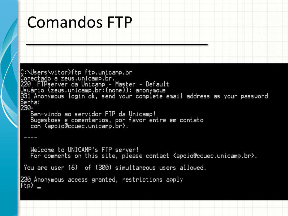 Comandos FTP