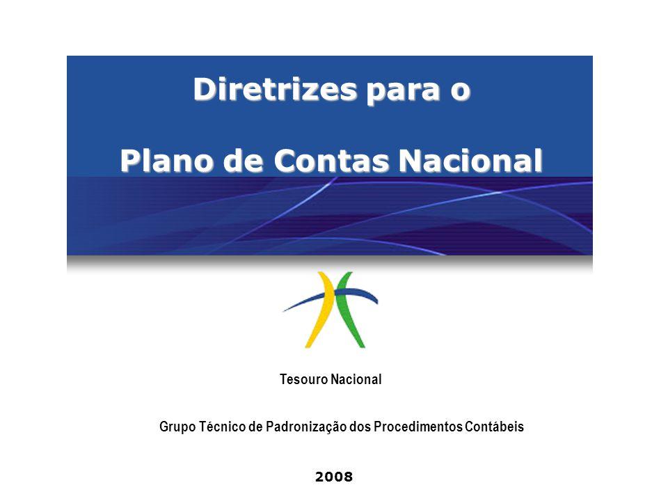 Diretrizes para o Plano de Contas Nacional
