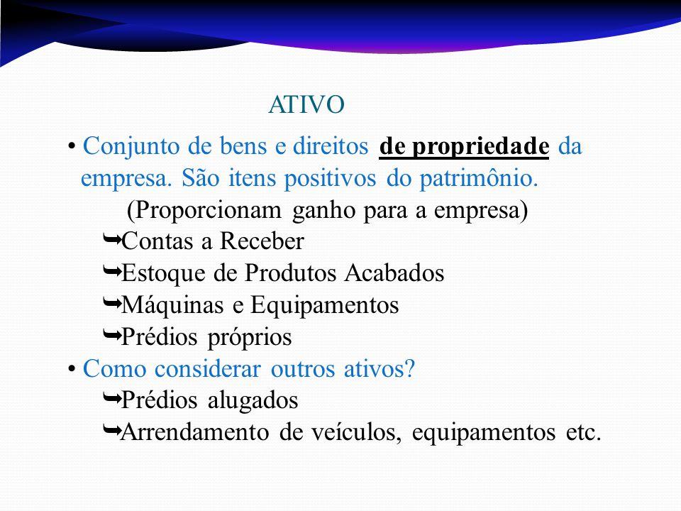 Conjunto de bens e direitos de propriedade da
