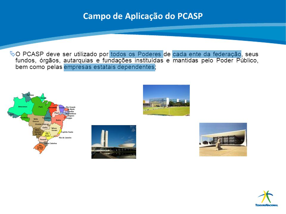 Campo de Aplicação do PCASP