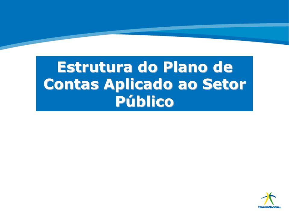 Estrutura do Plano de Contas Aplicado ao Setor Público