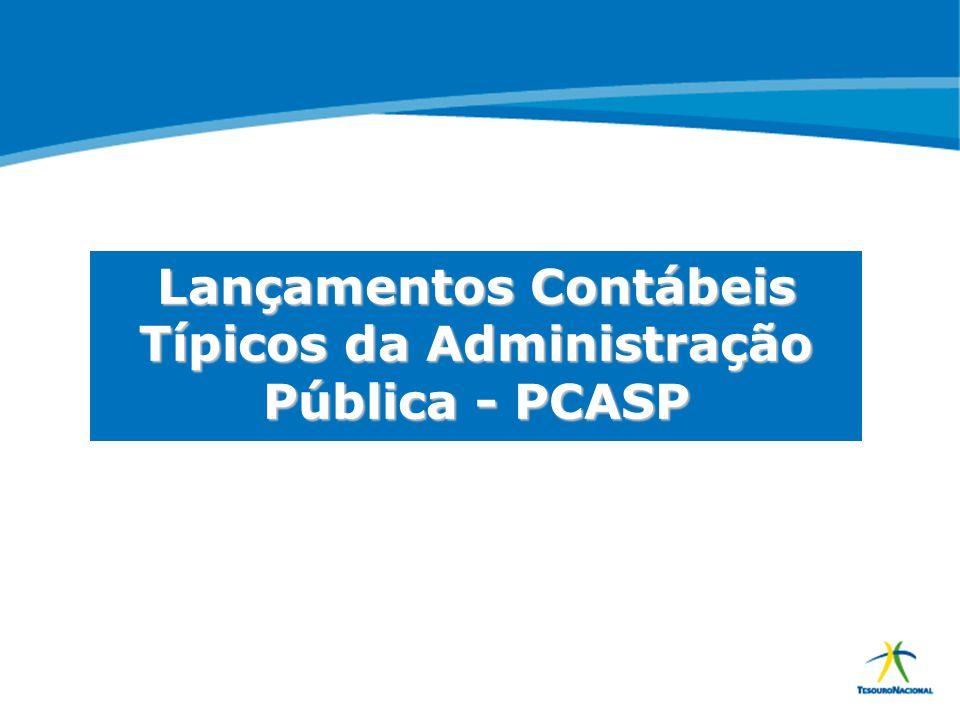 Lançamentos Contábeis Típicos da Administração