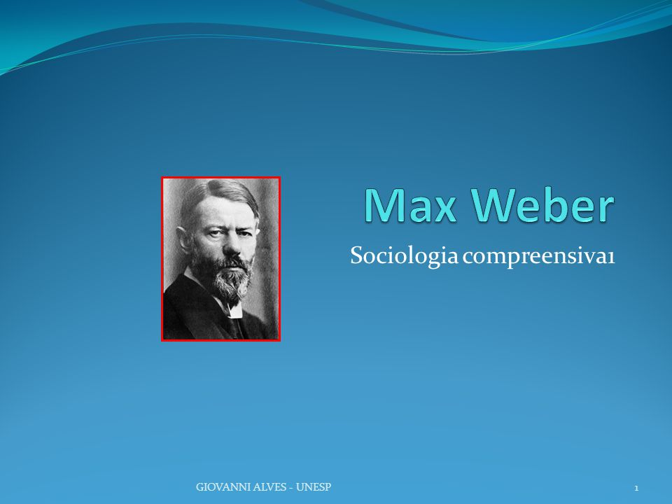 Sociologia compreensiva1