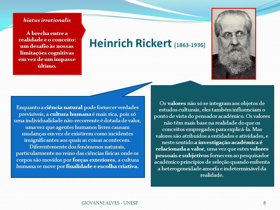 Heinrich Rickert (1863-1936) hiatus irrationalis