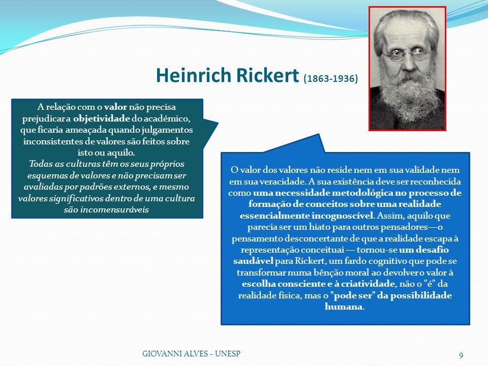 Heinrich Rickert (1863-1936)