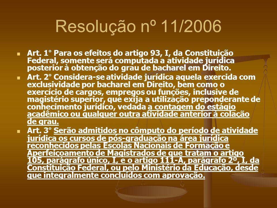 Resolução nº 11/2006
