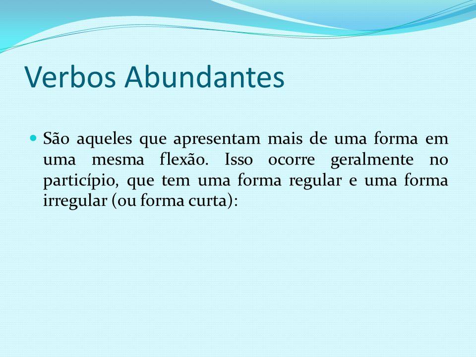 Verbos Abundantes