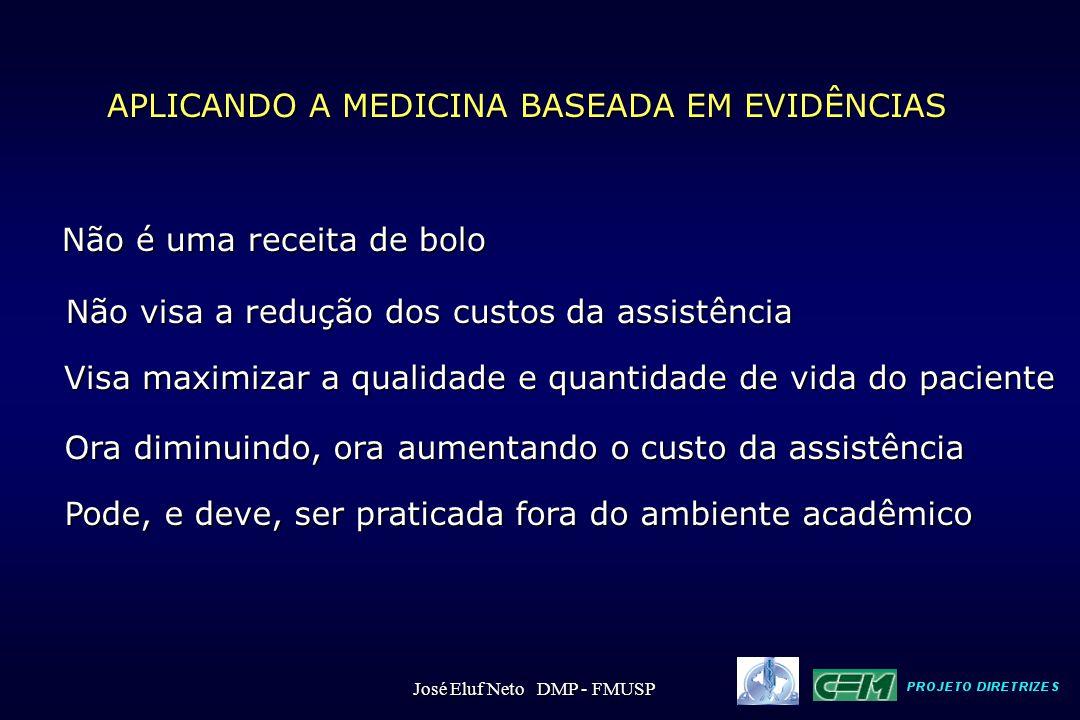 APLICANDO A MEDICINA BASEADA EM EVIDÊNCIAS