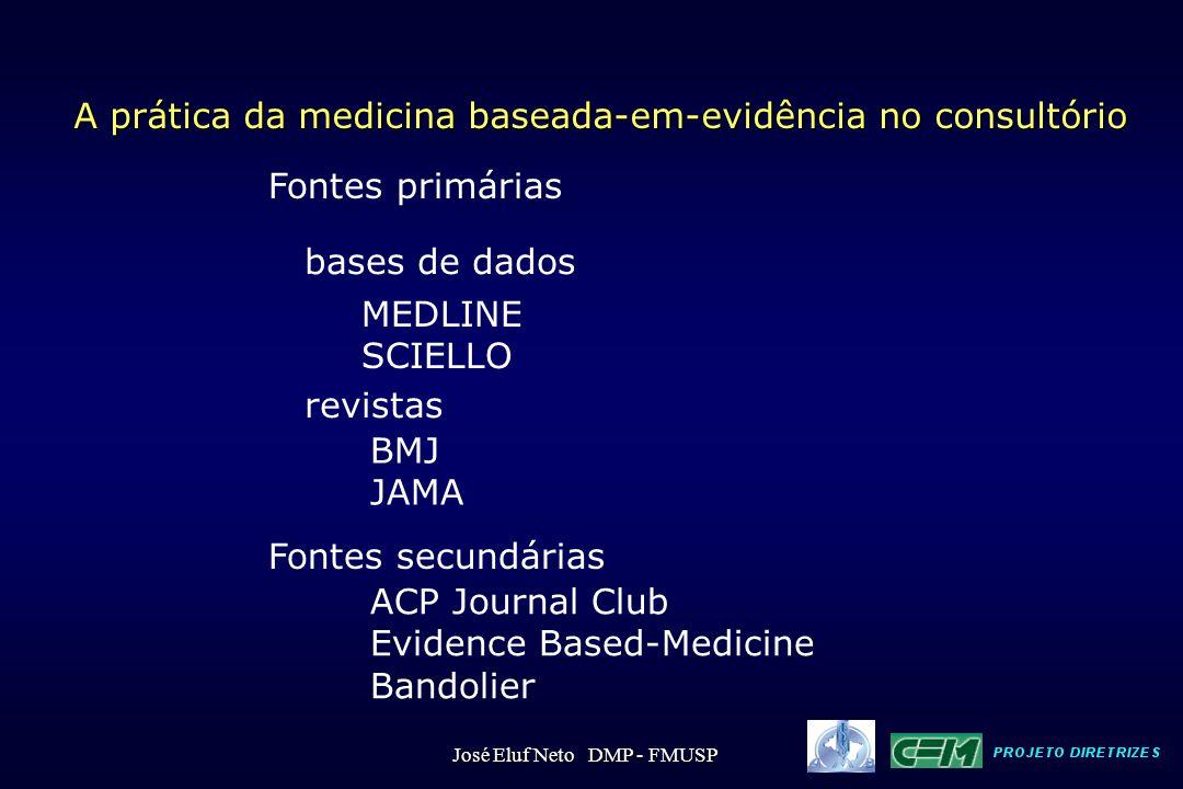 A prática da medicina baseada-em-evidência no consultório