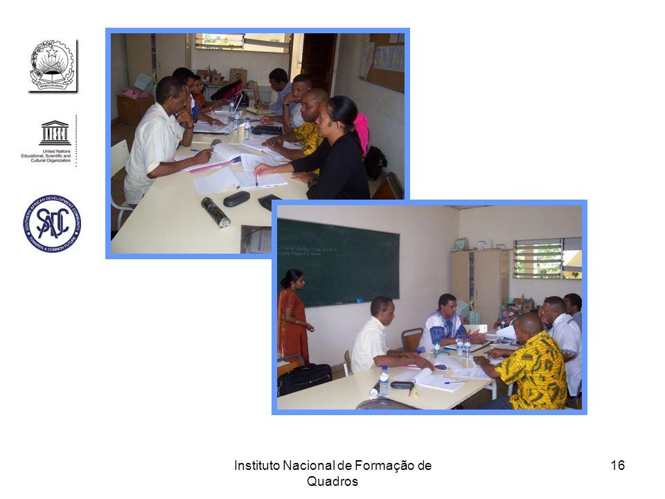 Instituto Nacional de Formação de Quadros