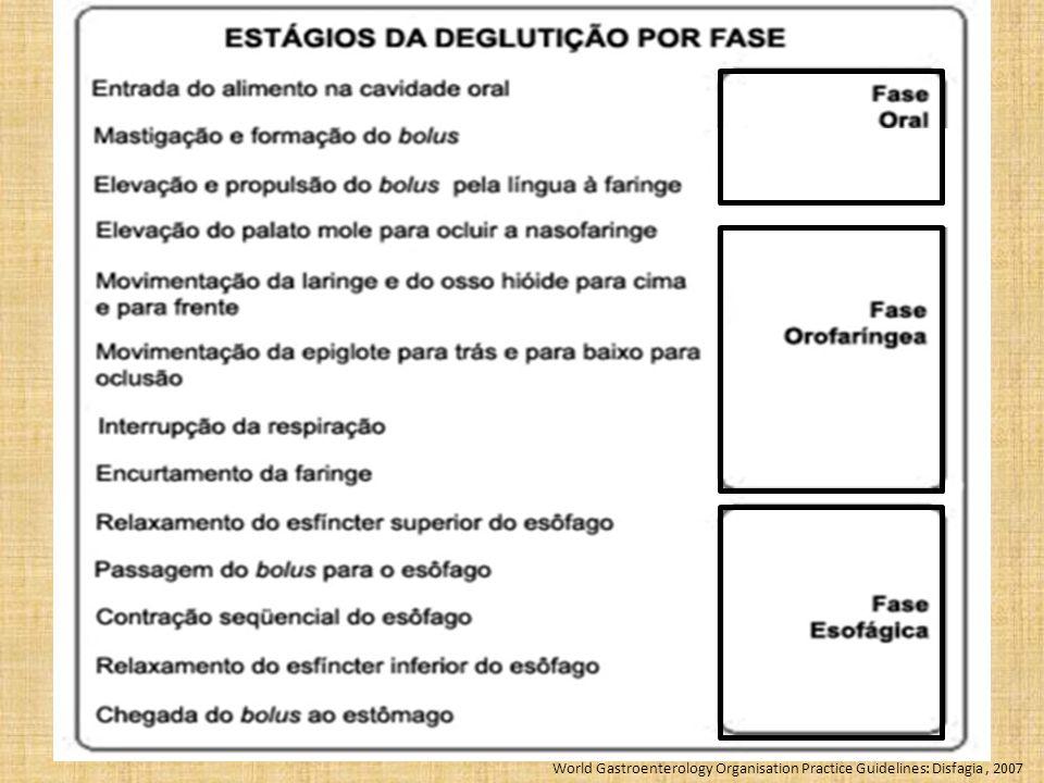 World Gastroenterology Organisation Practice Guidelines: Disfagia , 2007