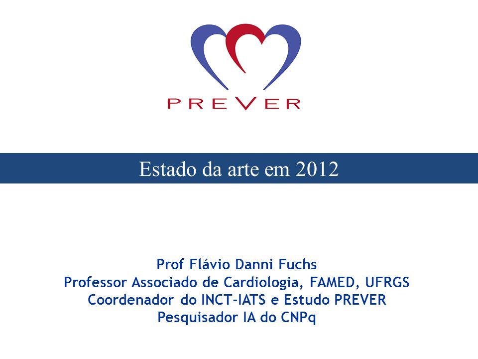 Estado da arte em 2012 Prof Flávio Danni Fuchs