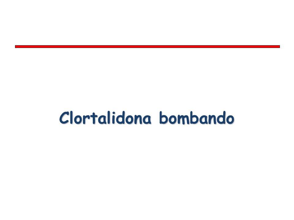 Clortalidona bombando