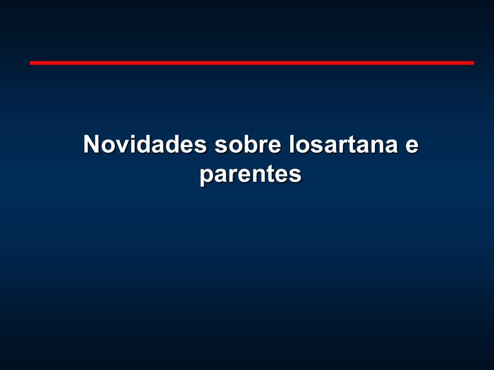 Novidades sobre losartana e parentes