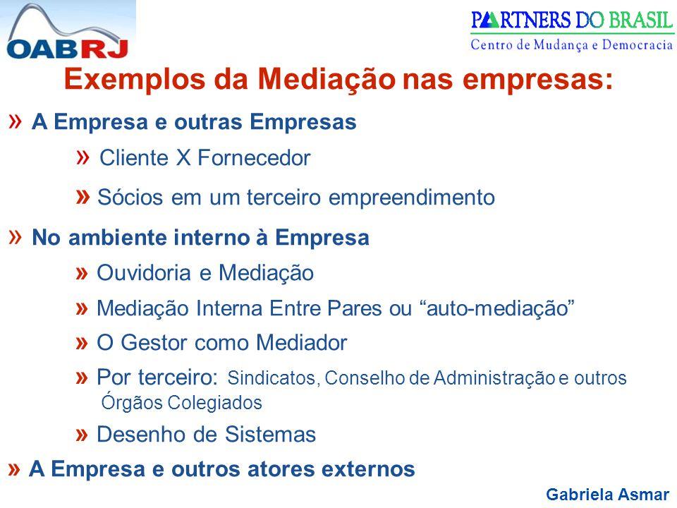 Exemplos da Mediação nas empresas: