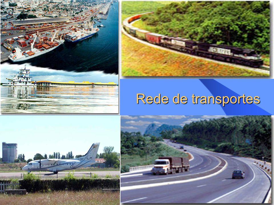 Rede de transportes
