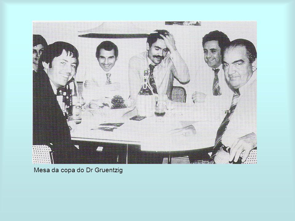 Mesa da copa do Dr Gruentzig