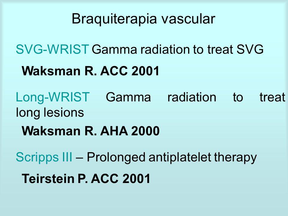 Braquiterapia vascular
