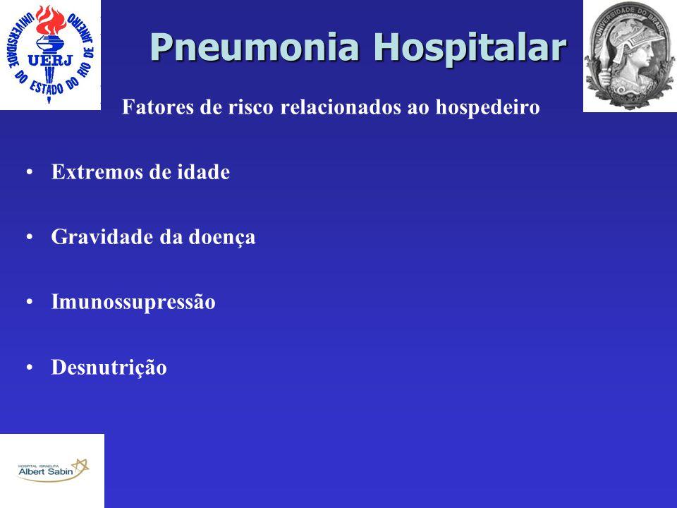 Fatores de risco relacionados ao hospedeiro