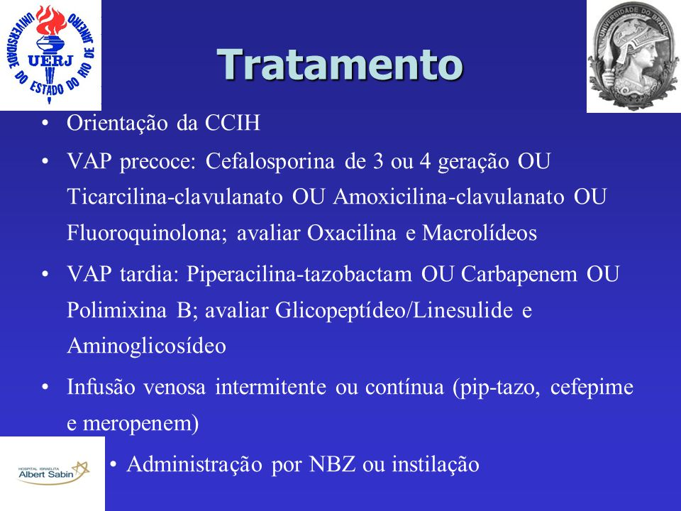 Tratamento Orientação da CCIH