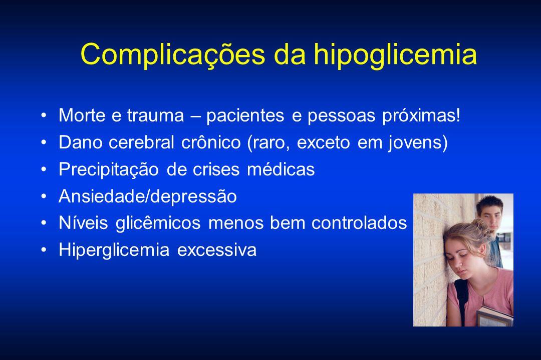 Complicações da hipoglicemia