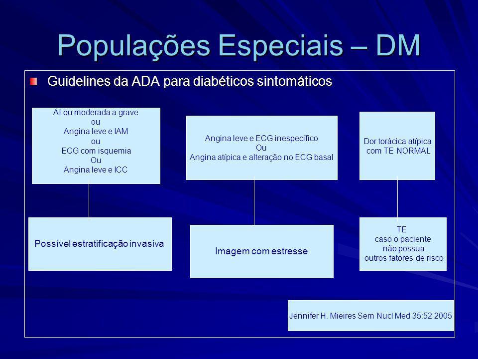 Populações Especiais – DM