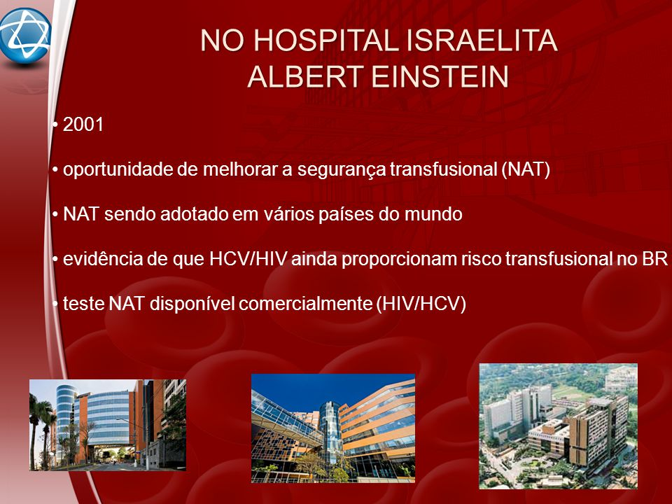 NO HOSPITAL ISRAELITA ALBERT EINSTEIN