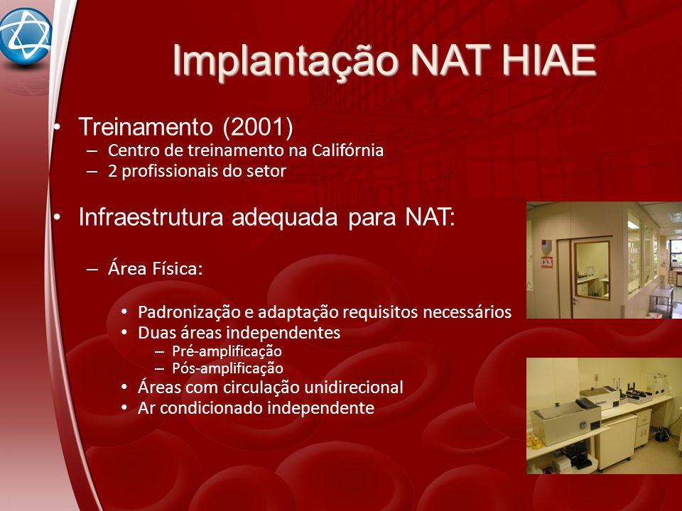 Implantação NAT HIAE Treinamento (2001)