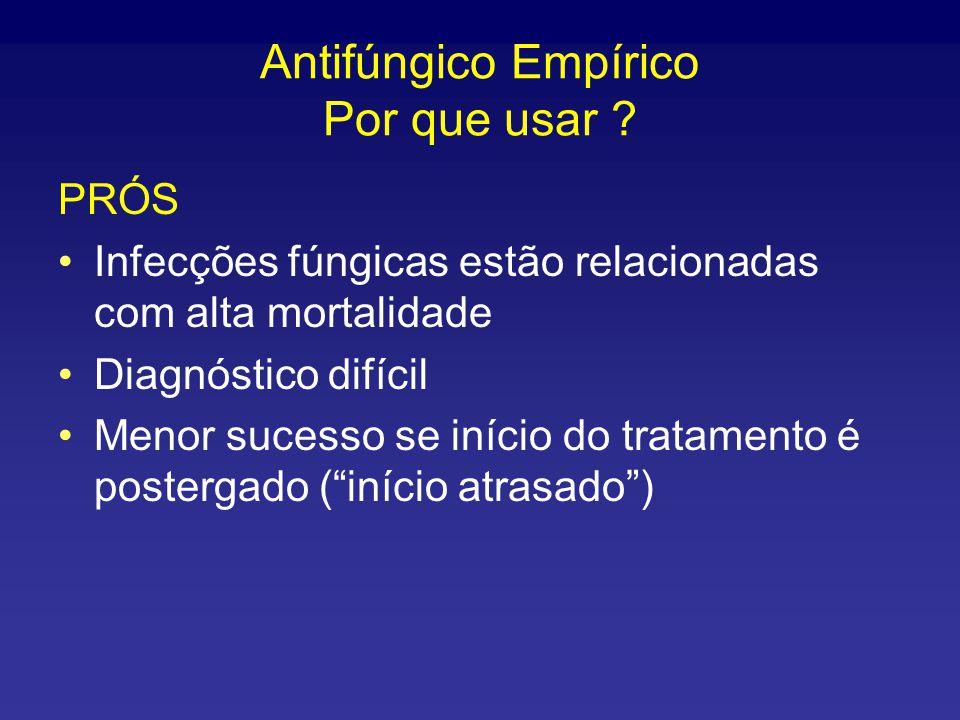 Antifúngico Empírico Por que usar
